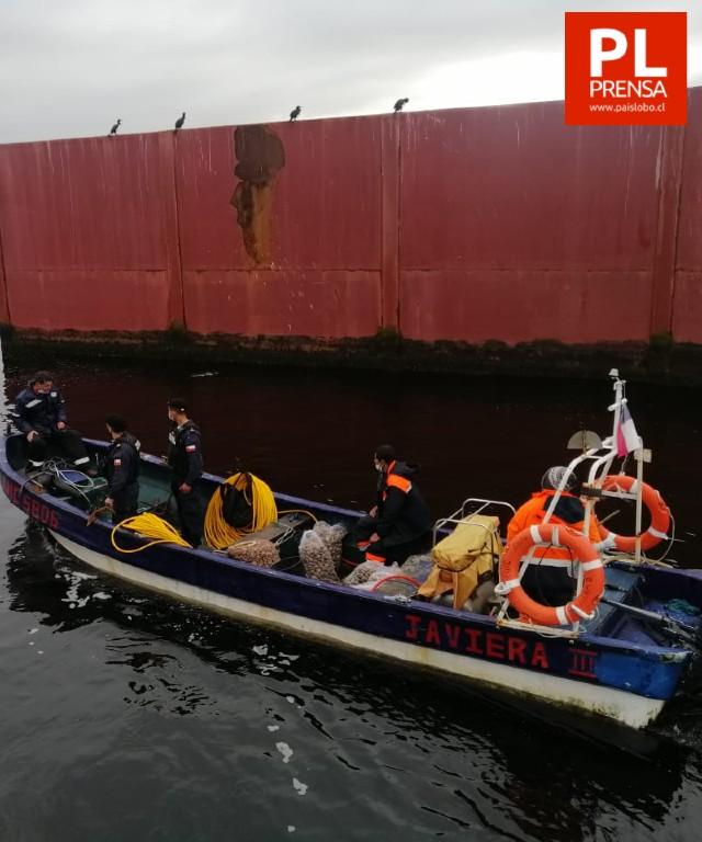 Autoridad Marítima de Maullín incautó 430 kilos de almeja
