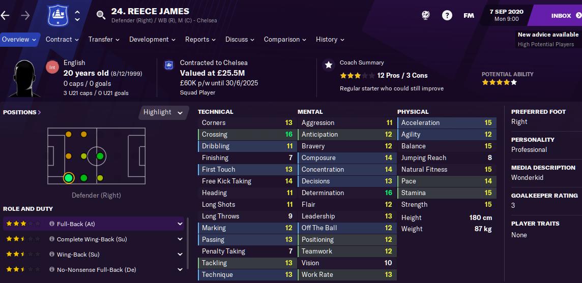 Reece James
