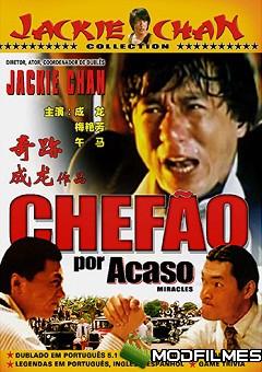 Capa do Filme Chefão Por Acaso