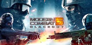 Modern Combat 5 Blackout MOD APK latest version 4.0.1e
