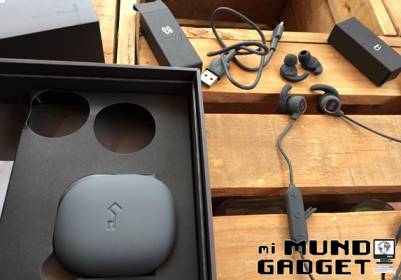 Aukey EP-B60: contenido de la caja