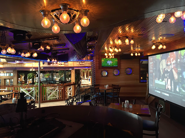 nightclub bar lighting audio video projection