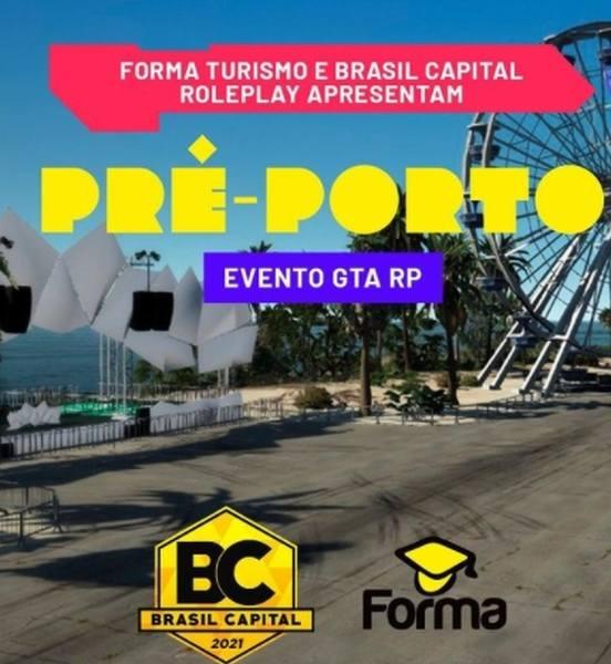 O Brasil Capital, um dos maiores servidores de GTA Roleplay do país, recebe neste domingo (4), a partir das 20h, o primeiro evento virtual do Porto Festival Seguro.