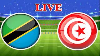 مشاهدة مباراة تونس  وتنزانيا اليوم تصفيات كأس امم افرييا 2022