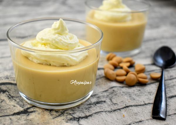Natillas de Chocolate Gold con Nata Aromatizada de Cítricos. Vídeo receta