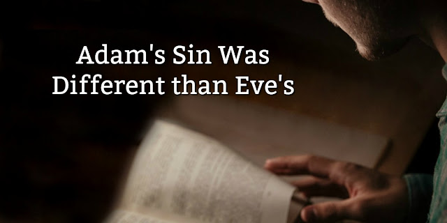 Eve committed the oldest sin in the book, and Adam's sin was even more serious. This 1-minute devotion explains. #BibleLoveNotes #Bible #Devotions