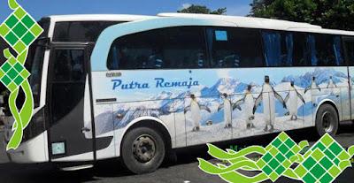 Harga Tiket Mudik Lebaran 2017 Bus Putra Remaja Jurusan Solo, Jogja, Lampung, Palembang, Jambi
