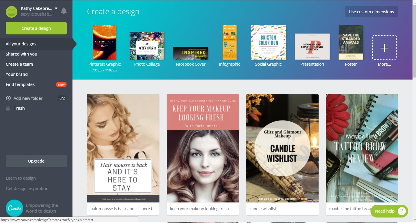 how to use canva to create great pinterest images