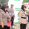 Peringati HUT Polwan Ke-71, Polwan Polda Banten gelar Ziarah Kubur
