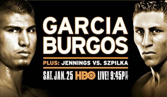 Mikey García vs Burgos en Vivo