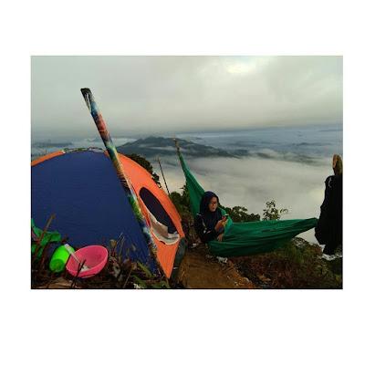 Hammockan di atas awan kapuas hulu