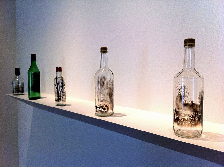 smoke bottle drawings jim dingilian