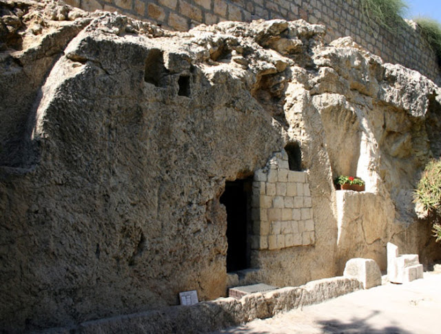 The True Tomb of Jesus Discovered at the Garden Tomb.