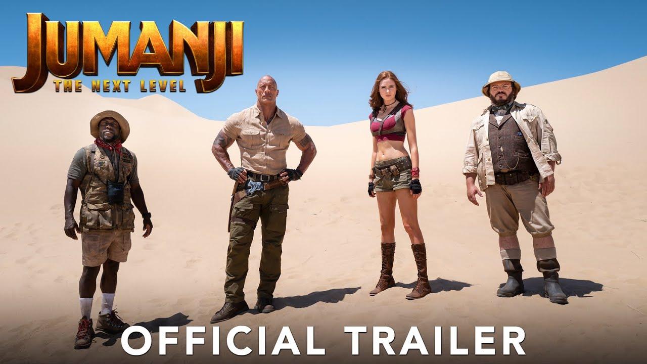 Jumanji The Next Level trailer - Jumanji 3 trailer - 3 Movierulz