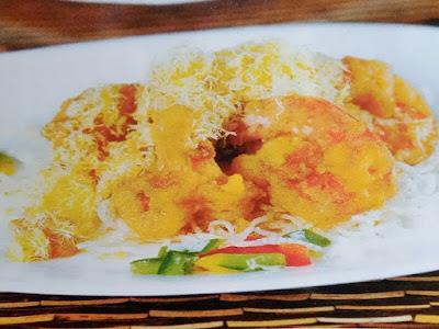 Gambar Resep Udang Goreng Dengan Saus Kuning Telur
