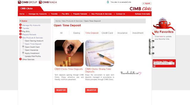Cara Mudah Membuka Deposito Di CIMB Niaga syariah, deposito, tutorial membuat deposito di bank cimb niaga syariah, pengalaman deposito di cimb niaga