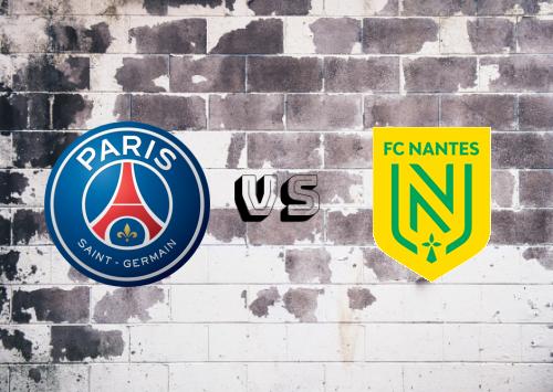 PSG vs Nantes  Resumen y goles