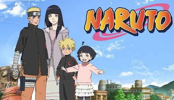 Inilah pasangan anime Naruto yang menikah di ending