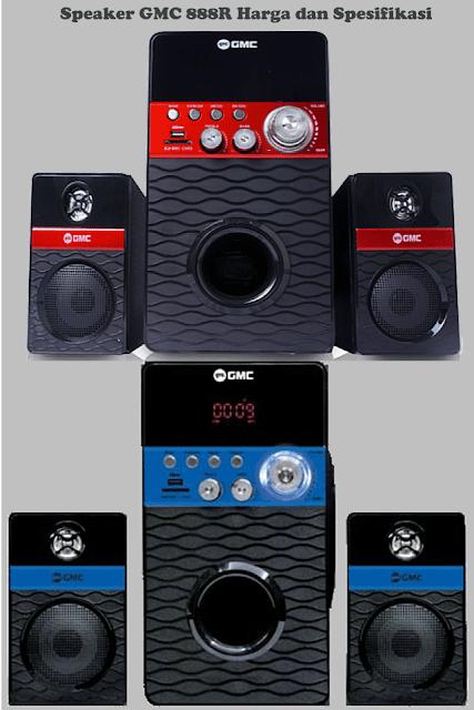 Harga Speaker GMC 888R Aktif Spesifikasi