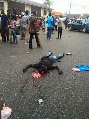 Young Man Killed By Nigeria Police Force In Benin City