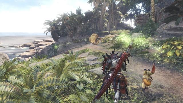 الكشف عن مرحلة بيتا إضافية للعبة Monster Hunter World و تفاصيل أول تحديث مجاني ...
