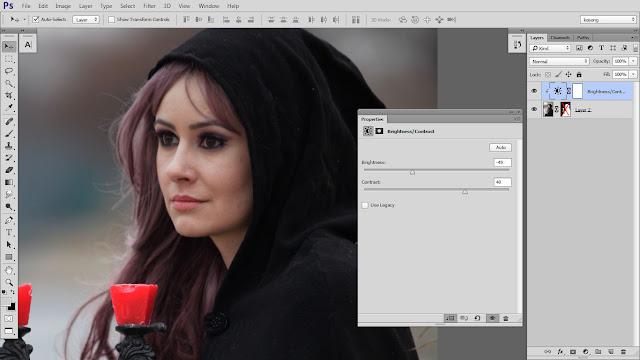 4 Design cover buku Novel dengan Photoshop CC