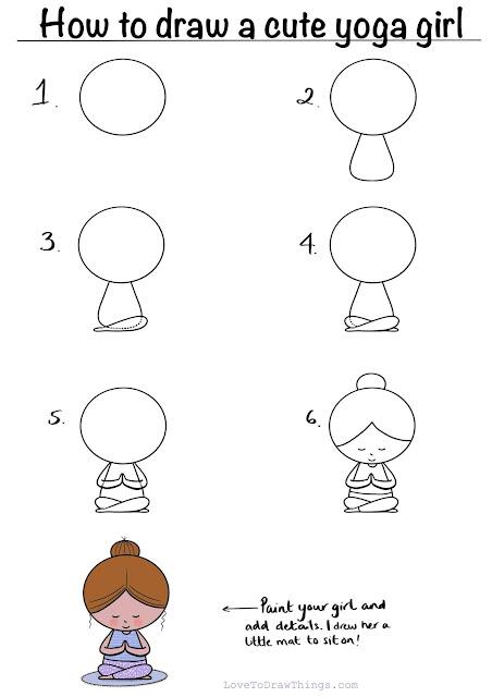 Easy drawing tutorials. Easy step by step drawing. Beginner drawing tutorial