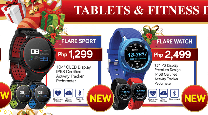 Cherry Mobile announces Flare Sport and Flare Watch with circular designs!