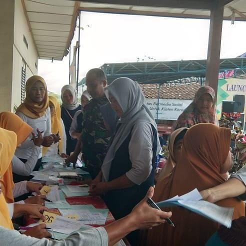 Babinsa Taskombang Hadir Sosialisasi Lounching Posbindu Maharani