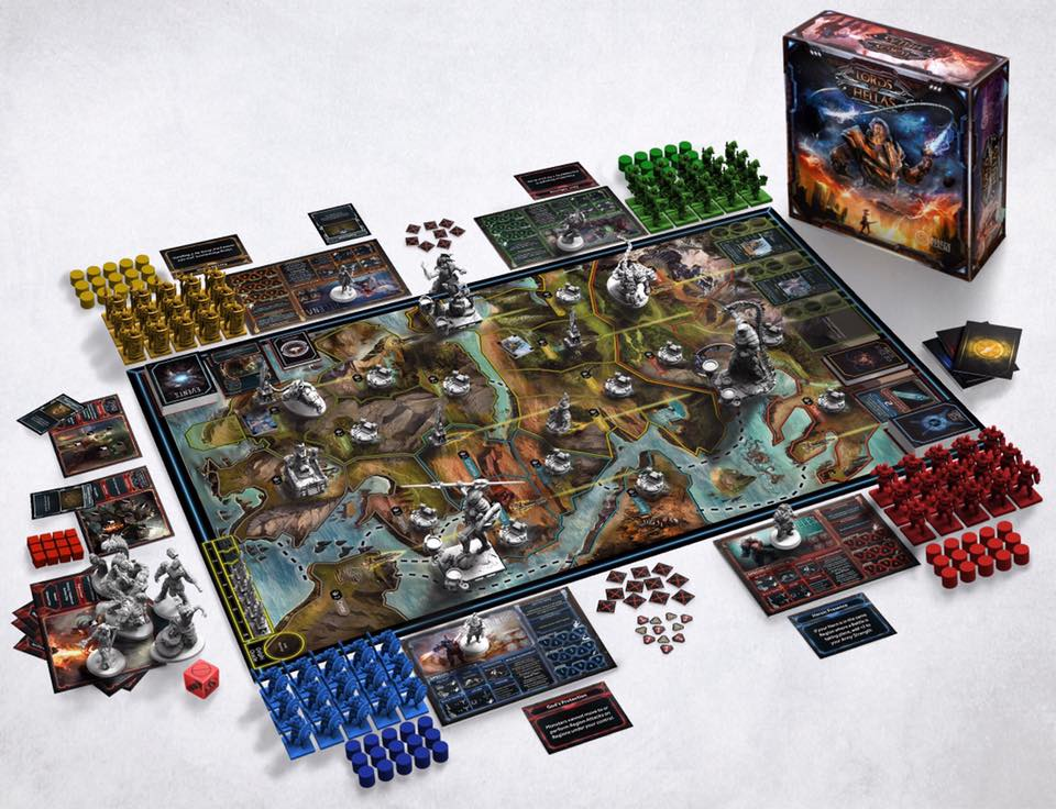 Lords of Hellas Kickstarter strategy Board game