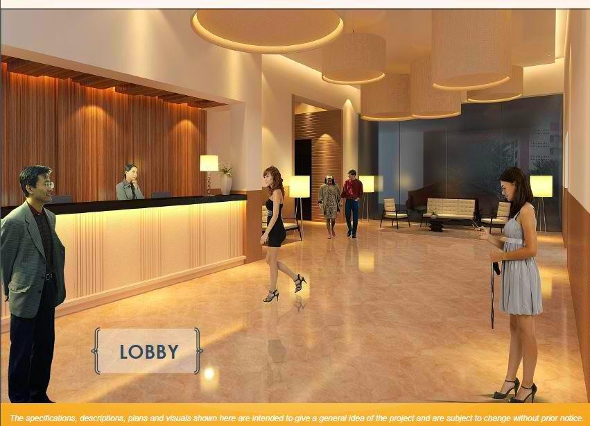 Solana Condominium Lobby Area