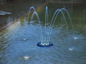 Plaukiojantis fontanas