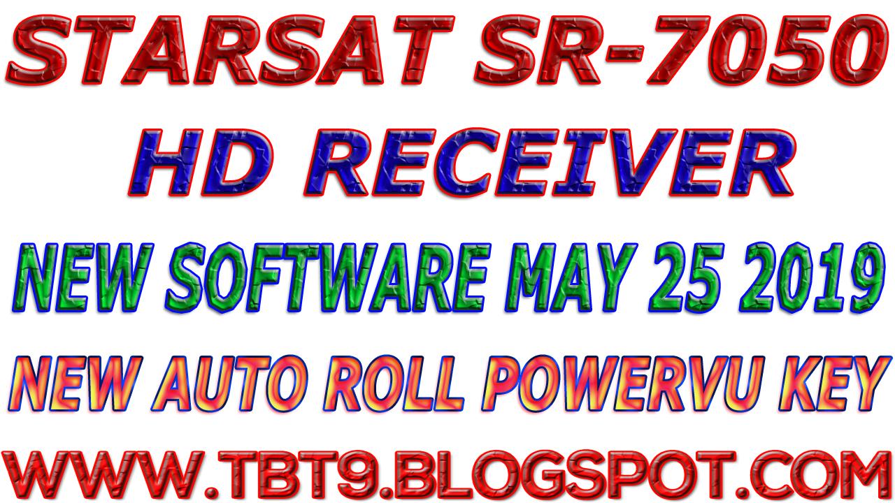 STARSAT HD RECEIVER SR-7050 BEOUTQ AUTO ROLL POWERVU NEW