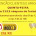 Supermercado Modelo informa horário de funcionamento para esta quinta-feira, dia 31