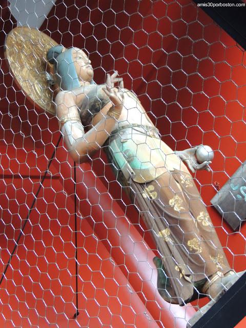 Kinryū (Dragón Dorado) en la Puerta Kaminarimon del Templo Sensoji