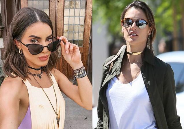A blogueira Chiara Ferragni, que está sempre de olho nas tendências, já  escolheu a sua presilha dourada que acredito ser da Versace. 693a57a008