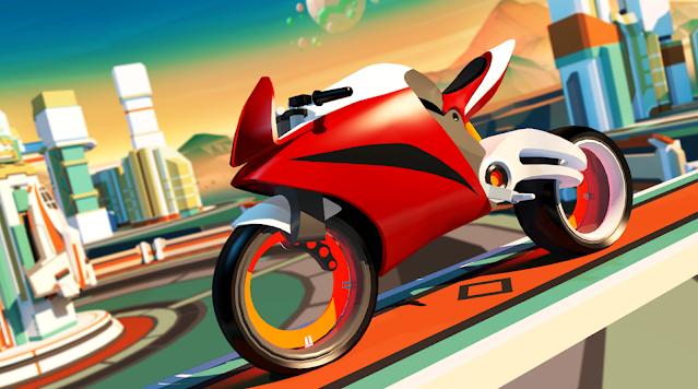 لعبة سباق السرعة القصوى للدراجات النارية Gravity Rider Race Game for android1