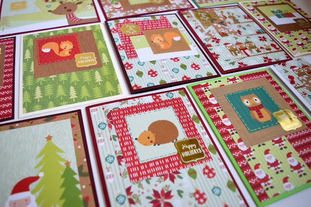 43 Christmas Card One 6x6 Paper Pad tutorial by Jess Crafts