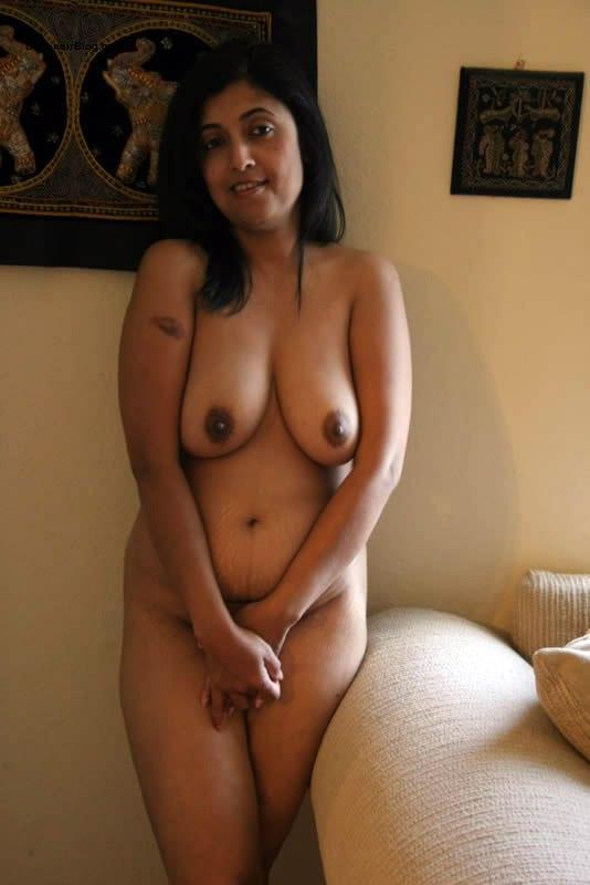 Girl bending over showing vagina