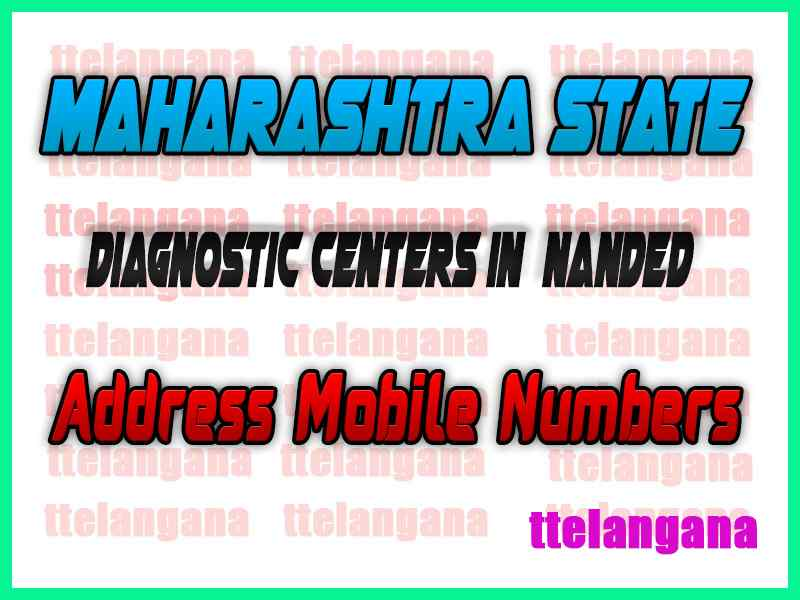 Diagnostic Centers in Nanded Maharashtra