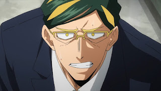 ヒロアカ   サー・ナイトアイ   Sir Nighteye   僕のヒーローアカデミア アニメ   My Hero Academia   Hello Anime !
