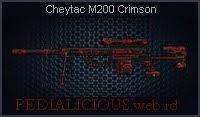Cheytac M200 Crimson