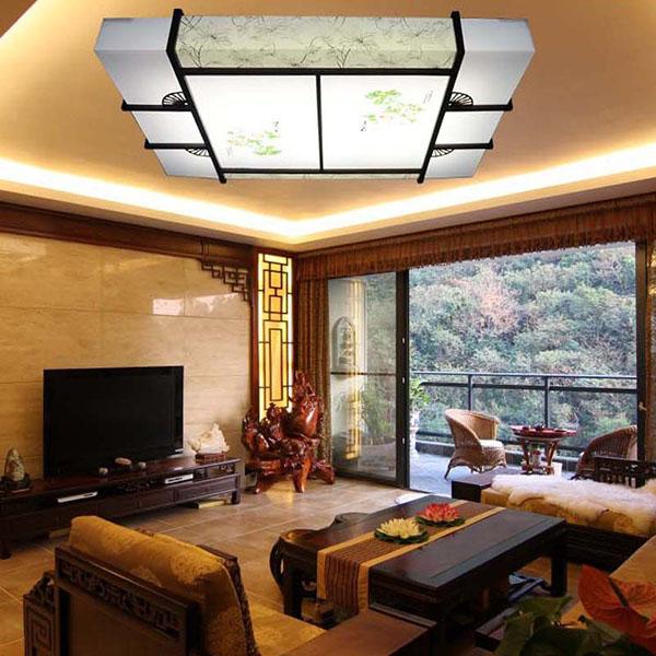 Mẫu trần phòng khách nhà ống 1