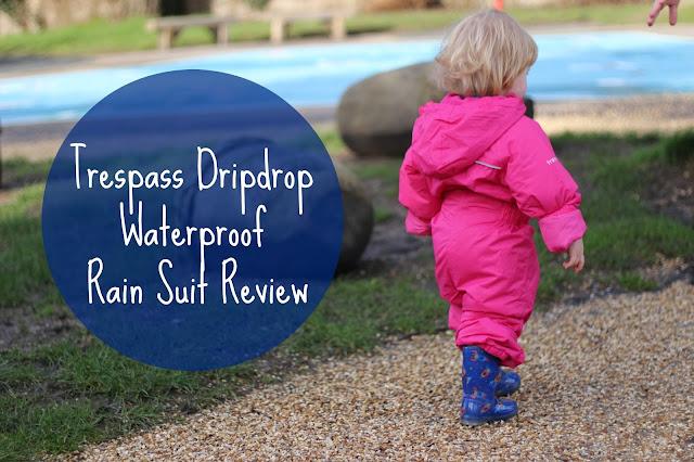 a9484d27b8dc Trespass Dripdrop Waterproof Rain Suit