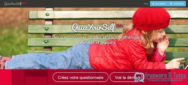 QuizzYourSelf : un outil pour créer, diffuser et analyser des questionnaires