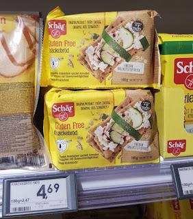 Knackebrod by Schär gluten free