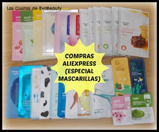 Compras en Aliexpress (Especial Mascarillas) #aliexpress #skincare #beauty #belleza #compras #haul #mask #mascarilla #facemask #sheetmask #masklover #maskaddict