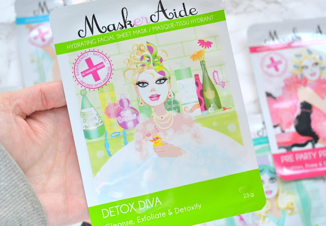 MaskerAide Sheet Mask Review