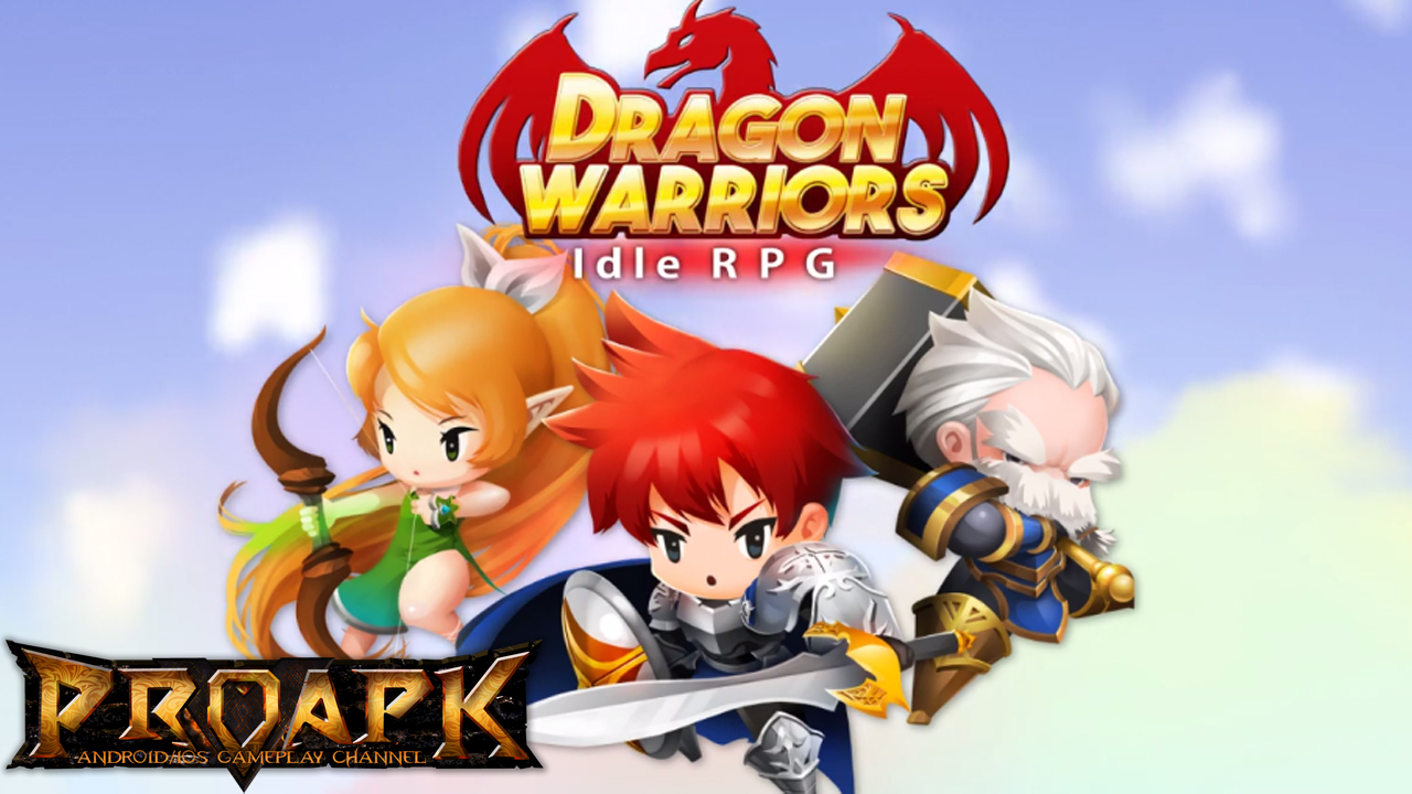 Dragon Warriors : Idle RPG