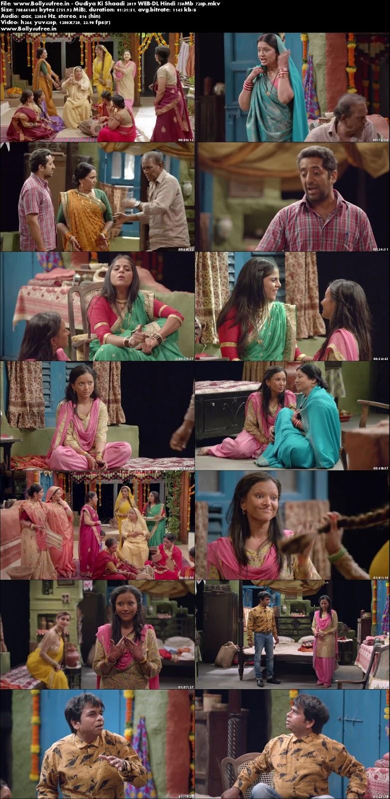 Gudiya Ki Shaadi 2019 Hindi Movie Download 300MB 480p WEB-DL